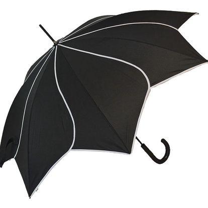 Černý deštník Windmill