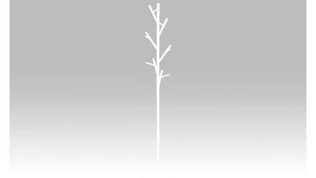 Věšák v.170 cm, bílá 83766-02A WT Autronic