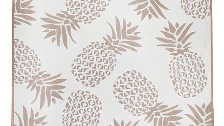 Oboustranný koberec Homedebleu Pineapple, 120 x 180 cm