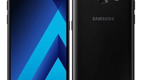 Mobilní telefon Samsung Galaxy A3 (2017) černý + dárek (SM-A320FZKNETL)