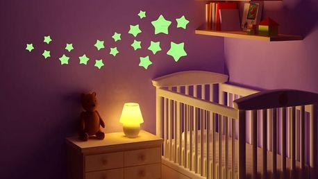Set ve tmě svítících samolepek Ambiance Stars