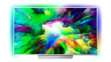 Televize Philips 55PUS7803 stříbrná