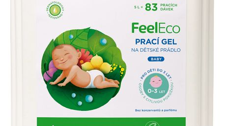 FEEL ECO PRACÍ GEL BABY 5L