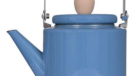 Modrá smaltovaná konvička Garden Trading Stove Kettle, 2 l