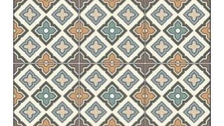 Vinylový běhoun Huella Déco Quadrado 180x50 cm