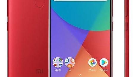 Xiaomi Mi A1 32 GB Dual SIM CZ LTE (17536) červený