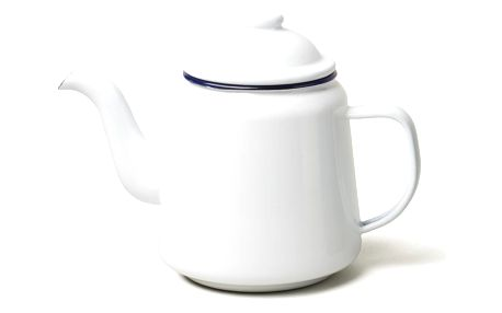 Bílá smaltovaná čajová konvička Falcon Enamelware,1l