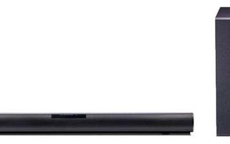 Soundbar LG SJ2 černý + DOPRAVA ZDARMA