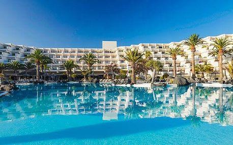 Kanárské ostrovy - Lanzarote na 8 dní, all inclusive, polopenze nebo snídaně s dopravou letecky z Prahy