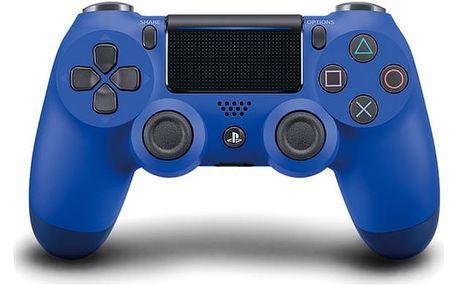 Gamepad Sony Dual Shock 4 pro PS4 v2 modrý (PS719893950)