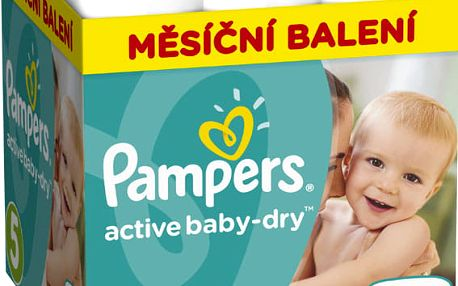 Pampers Active Baby Monthy Box S5 150 ks