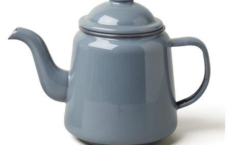 Šedá smaltovaná čajová konvička Falcon Enamelware,1l