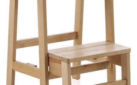 Stolička z březového dřeva Geese Pure