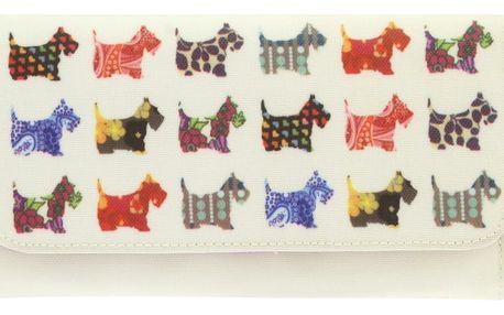 Oboustranná peněženka Santoro London Scottie Dogs