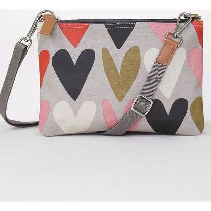 Taška přes rameno Caroline Gardner Rowan Fashion Bag Hearts