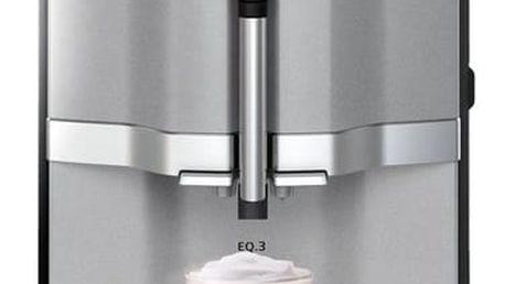 Espresso Siemens EQ.3 TI303203RW šedé + dárky