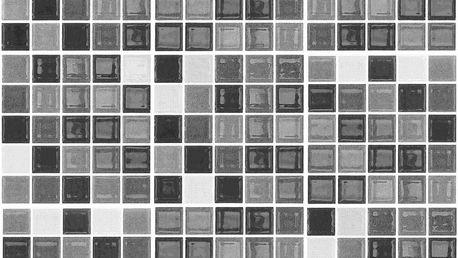 Sada 9 samolepek Ambiance Shade of Grey, 20 x 20 cm