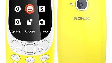 Nokia 3310 (2017) Dual SIM (A00028674) žlutý