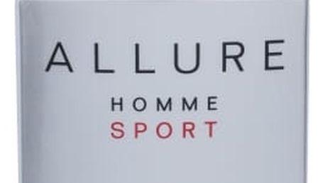 Chanel Allure Homme Sport 100 ml toaletní voda tester pro muže