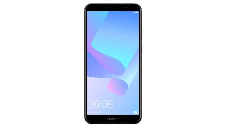 Mobilní telefon Huawei Y6 Prime 2018 Dual SIM (SP-Y6P18DSBOM) černý SIM karta T-Mobile 200Kč Twist Online Internet + Powerbank Forever 10000 mAh 2xUSB šedá/bílá + Kryt na mobil Huawei Y6 Prime (2018) průhledný v hodnotě 998 Kč