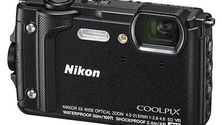 Digitální fotoaparát Nikon Coolpix W300, Holiday Kit černý (VQA070K001)