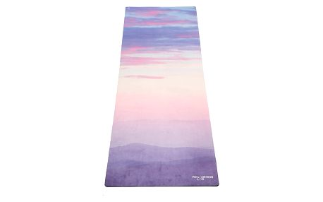 Podložka na jógu Yoga Design Lab Commuter Sunrise, 1,3 kg