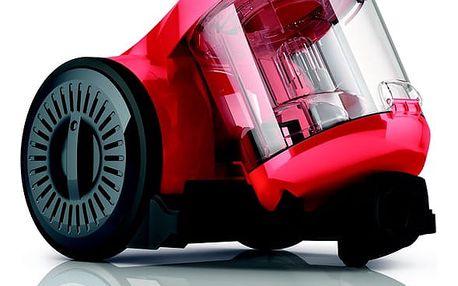 Vysavač podlahový Dirt Devil Ultima red DD2620-1 červený + dárek Turbohubice vzduchová Dirt Devil M219 plast v hodnotě 499 Kč + DOPRAVA ZDARMA