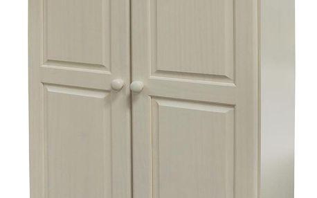 Skříň 2 dveřová 8860B bílý lak