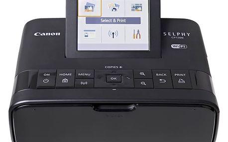 Fototiskárna Canon CP1300 Selphy černá (2234C002)