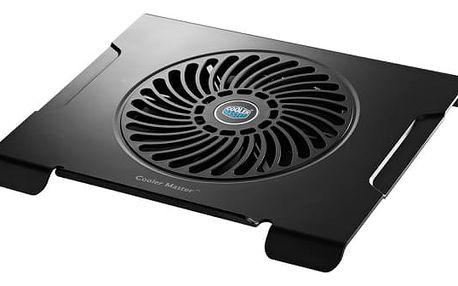 """Chladící podložka pro notebooky Cooler Master NotePal NotePal CMC3 pro 12"""" - 15"""" černá (R9-NBC-CMC3-GP)"""
