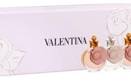 Valentino Valentina dárková kazeta pro ženy parfémovaná voda Valentina 2x 4 ml + parfémovaná voda Valentina Assoluto 2x 4 ml miniatura