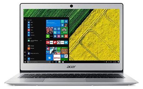 Notebook Acer Swift 1 (SF113-31-P29T) stříbrný + dárky (NX.GP1EC.004)