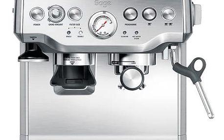 Espresso SAGE BES870 stříbrné