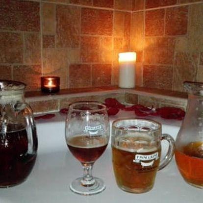 Český ráj, Pivní lázně Dolní Bousov pro dva s polopenzí a saunou