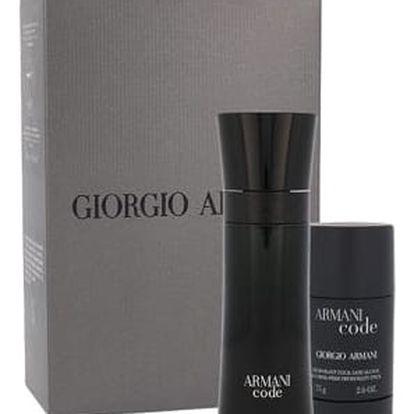 Giorgio Armani Armani Code Pour Homme EDT dárková sada M - EDT 75 ml + deostick 75 ml