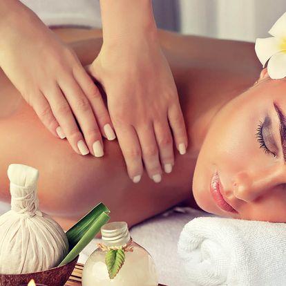 43% sleva na Thajskou terapeutickou olejovou masáž