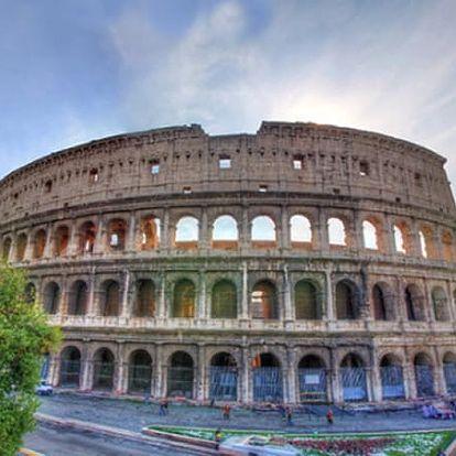5denní zájezd za skvosty Itálie - Řím, Vatikán, Florencie, Verona a Benátky pro jednoho.