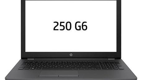 Notebook HP 250 G6 černý + dárek (1XN42EA#BCM)