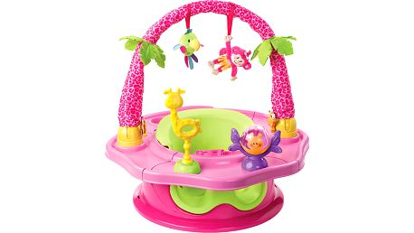 SUMMER INFANT Super sedátko 3v1 růžové