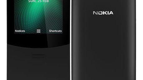 Mobilní telefon Nokia 8110 4G Dual SIM černý (16ARGB01A15)