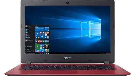 Notebook Acer 1 (A114-31-C1HU) + Office 365 Personal na rok zdarma (NX.GQAEC.003) červený Software F-Secure SAFE, 3 zařízení / 6 měsíců + Monitorovací software Pinya Guard - licence na 6 měsíců v hodnotě 1 178 Kč + DOPRAVA ZDARMA