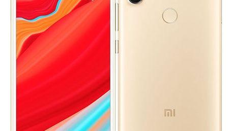 Mobilní telefon Xiaomi Redmi S2 32 GB Dual SIM zlatý + dárek (18458)
