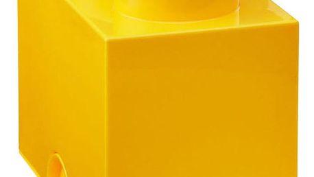 Žlutý úložný dvojboxík LEGO®