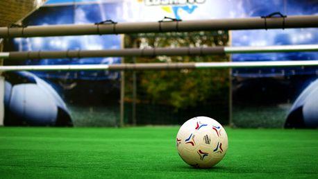 Živý stolní fotbálek: akční utkání pro 6-12 hráčů