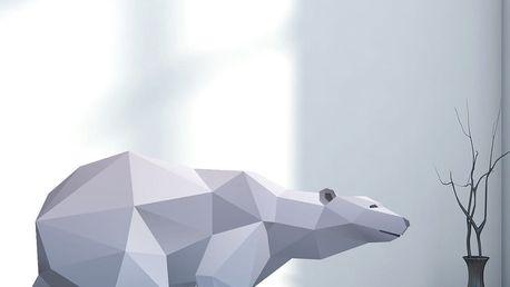 Samolepka Ambiance Origami Polar Bear