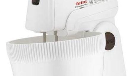 Ruční šlehač s mísou Tefal POWERMIX HT615138 bílý