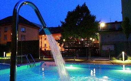 Wellness pobyt pro dva ve Wellness hotelu Central***, polopenze, sauna, vnitřní vyhřívaný bazén.