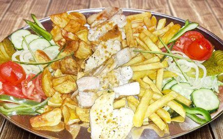 Libová večeře z grilu pro dva gurmány