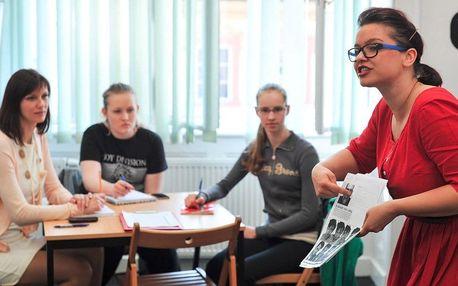 Letní kurz angličtiny v centru Prahy - 5 týdnů