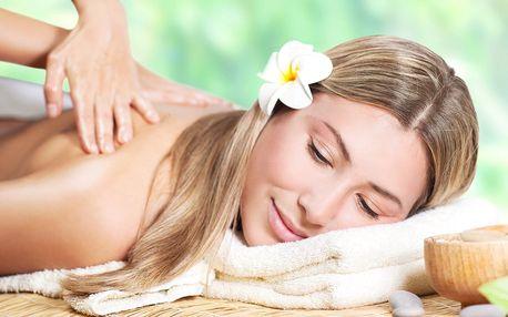 Osvěžující masáž podle výběru i lázeň či maska